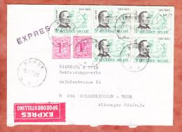 Expres, MiF Blair U.a., Namur Nach Gelsenkirchen 1974 (24734) - Belgien