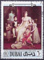 Dubai 1970 - Caroline Bonaparte, Painted By Baron Gerard ( Mi 376 - YT 110.2 ) - Femmes Célèbres