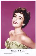 ELIZABETH TAYLOR - Film Star Pin Up - Publisher Swiftsure Postcards 2000 - Postales