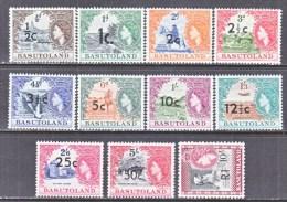 BASUTOLAND  61-71  * - Basutoland (1933-1966)