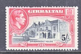 GIBRALTAR  116    (o)   PERFS TOP - Gibraltar
