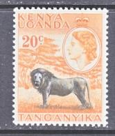K.U.T.     107   **   LION - Kenya, Uganda & Tanganyika