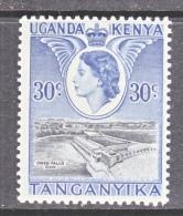 K.U.T.     108   **   LION - Kenya, Uganda & Tanganyika