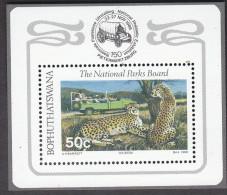 BOPHUTHATSWANA, 1988 NATIONAL PARKS MINISHEET MNH - Bophuthatswana