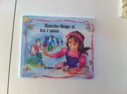 Ancien BLANCHE-NEIGE ET LES 7 NAINS POP UP Luce-andrée LAGARDE  POP-UP - Livres, BD, Revues