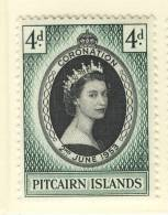 1953 QUEEN ELIZABETH CORONATION  PITCAIRN ISLANDS - Grossbritannien (alte Kolonien Und Herrschaften)