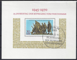 Germany  (DDR) 1970  Befreiung Vom Faschismus  (o) Mi.1572 (block 32) - DDR