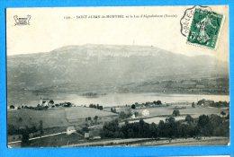 LIPP553, Saint Alban-de-Montbel , Lac D'Aiguebelette,  Circulée 1910 - Autres Communes