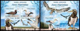 S. TOME & PRINCIPE 2013 - Water Birds - YT 4104-7 + BF638; CV = 29 € - Sao Tome Et Principe