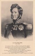 CPA - Portrait Historique De Louis-Philippe Roi Des Français - Éditions E.C. Paris - Neuve - 2 Scans - Personnages Historiques