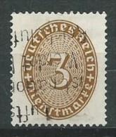 Allemagne - Empire - Service - 1927 - Y&T 77 - Michel 114 -oblit. - Service