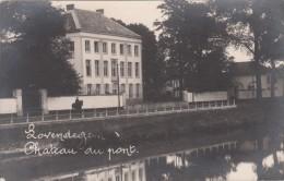 Zwarte Fotokaart Chateau Du Pont  Lovendegem - Lovendegem