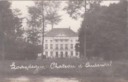 Zwarte Fotokaart Chateau D'Oudewal  Lovendegem - Lovendegem