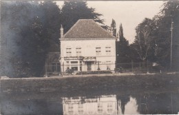 Zwarte Fotokaart Kasteel / Huis In Lovendegem - Lovendegem