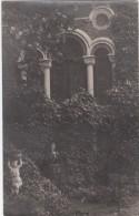 Zwarte Fotokaart Pavillon Romain Byzantium Chateau Du Rabot Lovendegem - Lovendegem