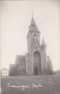 Zwarte Fotokaart Kerk Lovendegem - Lovendegem