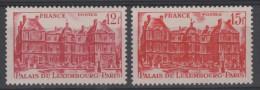 FRANCE - 1948 -  ** - Y&T 803-804  -  Valeur  4.85€ - France