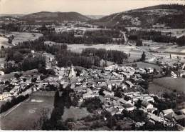 LOURES BAROUSSE 65 - Vue Générale Aérienne ( Stade Stadium ) CPSM Dentelée Noir Blanc Grand Format 1969 -Hautes Pyrenées - Other Municipalities