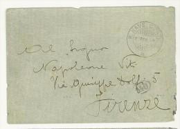 LETTERA - REGIA NAVE COATIT - ANNO 1915 - INCROCIATORE - 1900-44 Vittorio Emanuele III