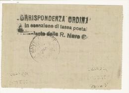 LETTERA - REGIA NAVE COATIT - ANNO 1914 - INCROCIATORE - 1900-44 Vittorio Emanuele III