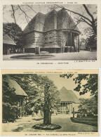 2 CP Togo Cameroun  Expo Coloniale De Paris 1931 Grand Pavillon Et Grand Palais Architecte  Louis H. Boileau Et Carriere - Togo