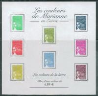 France - 2004 - Les Couleurs De Mariane En Euros - BF 67, Neuf** - Sheetlets