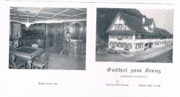 CH3354    SEEWEN : Gasthof Zum Kreuz ( Folder) - SO Soleure