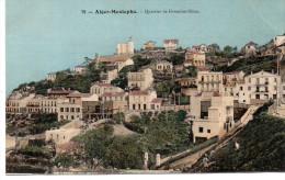 - ALGERIE - CPA COLORISEE Vierge ALGER-MUSTAPHA - Quartier De Fontaine-Bleue - Editions P.H. & Cie N° 79 - - Algiers