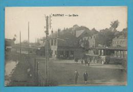 CPSM La Gare AUFFAY 76 - Auffay