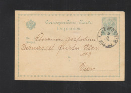 Bosnien Herzegowina GSK 1900 Maglaj Nach Wien - Ganzsachen