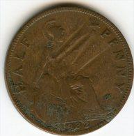 Grande-Bretagne Great Britain 1/2 Half Penny 1932 KM 837 - C. 1/2 Penny