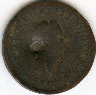 Grande-Bretagne Great Britain 1 Penny 1807 KM 663 - 1662-1816 : Acuñaciones Antiguas Fin XVII° - Inicio XIX° S.