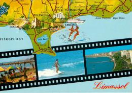 Chypre - Cyprus - Limassol - Multivues - Multiview - Semi Moderne Grand Format - état - Chypre