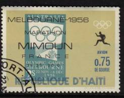 OLYMPICS MELBOURNE 1956 AUSTRALIA MARATHON UNMOUNTED CTO NEVER HINGED STAMPS ON STAMPS SPORT ATHLETIC - Haiti