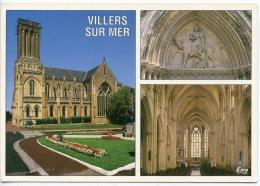 Villers Sur Mer (calvados 14) L´église 19è Gothique - Multivues N°3881 Le Goubey - Villers Sur Mer