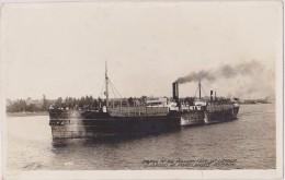 ETATS UNIS D´amérique,united States,USA,OREGON,PORTLAN D,1910,CARTE OLD,HARBOR,CARGO,CARTE PHOTO,BATEAU A VAPEUR - Portland