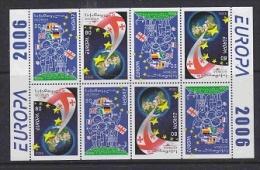 Europa Cept 2006 Georgia Booklet  Pane ** Mnh (F4173) - Europa-CEPT