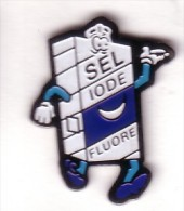 H251 Pin´s SEL Iodé Fluore Achat Immediat - Lebensmittel