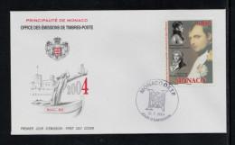 MONACO 2004 FDC YT N° 2445 Officiers Dans Les Armées Impériales Et Décorés De La Légion D´Honneur Napoleon 1er Grimaldi - FDC