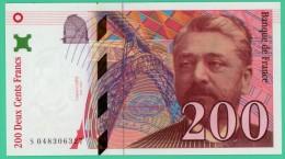 France - 200 Francs - Eiffel - N° S048306327 - 1996 - Neuf - 200 F 1995-1999 ''Eiffel''