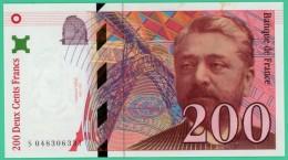France - 200 Francs - Eiffel - N° S 048306331 - 1996 - Splendide - 1992-2000 Dernière Gamme