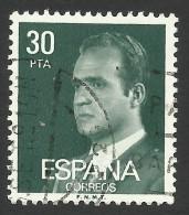 Spain, 30 P. 1981, Sc # 2190, Mi # 2490, Used - 1931-Aujourd'hui: II. République - ....Juan Carlos I