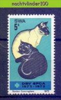 Mui154 FAUNA KATTEN ZOOGDIEREN CATS MAMMALS KATZEN CHATS FELINS  SWA 1972 PF/MNH - Gatti