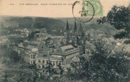 BELGIQUE - SPA - Vue Générale Prise D'Annette Et Lubin - Spa