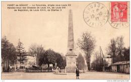 91 - MONTGERON -Foret De Senart La Pyramide - Montgeron