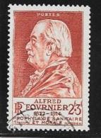 N° 748  FRANCE  - ALFRED FOURNIER -  OBLITERE  - 1946 - Usados