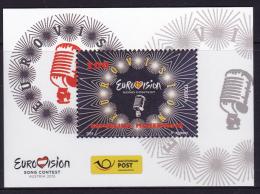 MACEDONIA ,2015,MNH, EUROVISION SONG CONTEST, S/SHEET - Music