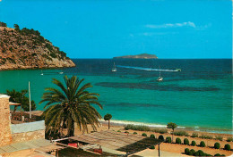 Espagne - Espana - Spain - Islas Baleares - Ibiza - Cala San Vicente Al Fondo Isla Tagomago - Semi Moderne Grand Format - Ibiza