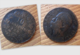 10 CENTESIMI DEL 1893 - UMBERTO I° BIRMINGHAM - - 1861-1946 : Regno