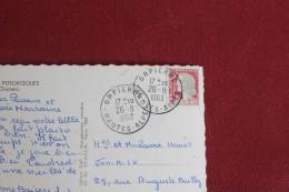 CPA DEPART ORPIERRE POUR COURBEVOIE - Poste